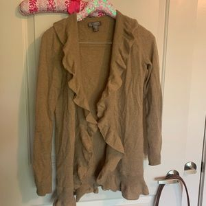 Tan Cashmere Sweater XS